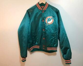 Miami dolphin chalkline jacket