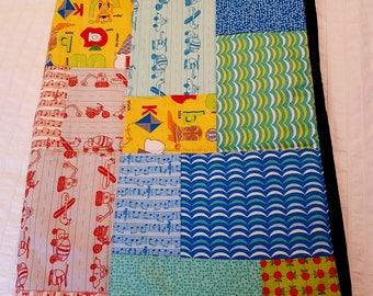Children's ABC Hand Made Quilt