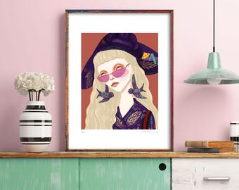 Limited Edition Signed Giclee Print | Gucci