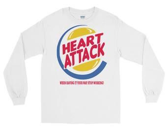 Heart Attack Long Sleeve T-Shirt