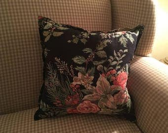 Floral Christmas Pillows