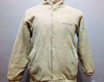 Vintage Polo Ralph Lauren hoodie wool jacket