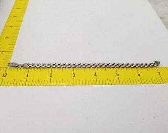 Vintage Sterling Silver Italy Made Bracelet