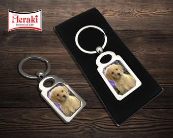 Dog key chain, Photo Key chains, Sublimation Key chains, pet photo Key chains