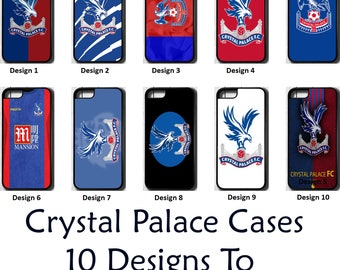Crystal Palace FC iPhone 5 5C SE 6 7 8 PLUS X Case Cover