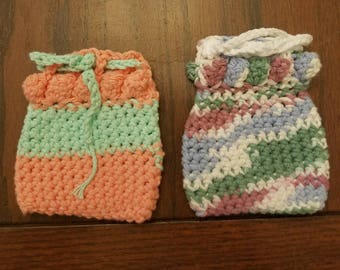 Crochet Soap Sacks