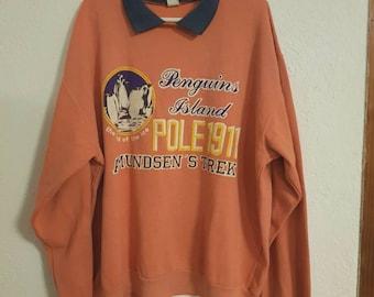 Vintage men sweatshirt / sweater 90s