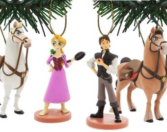 Disney's Tangled The Series Holiday Ornaments Set of 6