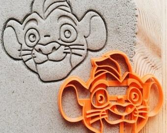 Kion Lion Guard Cookie Cutter