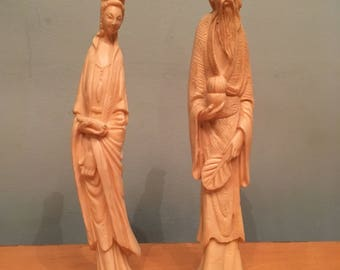 Italian Made Vintage Asian Statues