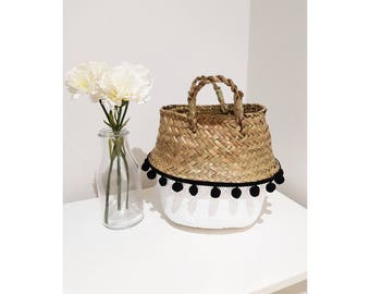 Mini Storage Basket Painted With trim