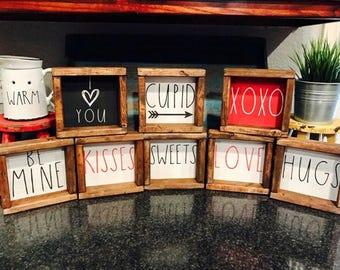 Valentine Rae Dunn Inspired Rustic Farmhouse Wooden Signs - Coffee Bar Decor