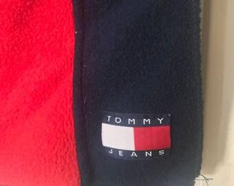 vintage Tommy Hilfiger scarf flag logo