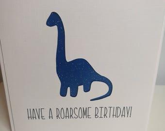 Happy Roarsome Dinosaur Birthday Card