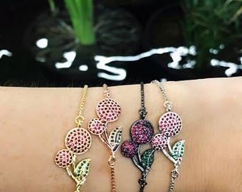CrystalDust Cherry Lady Bracelet