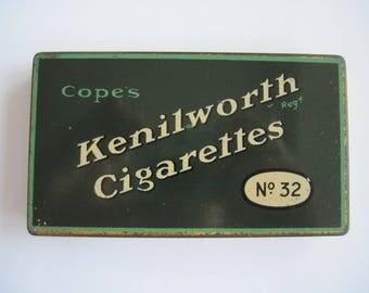 Cope's Kenilworth No 32 Cigarette Tin (32/empty) c.1920/40