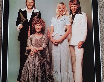 ABBA Poster - 'The Best Of'