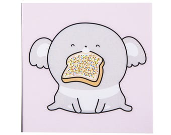 Fairy Bread Postcard