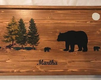 Customized Wooden Serving Tray/Wall Decor