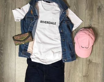 Riverdale Women/Unisex T-Shirt, Riverdale, Archie, Veronica, Betty, Jughead, Comfortable, Soft, Cute, Graphic Tee