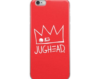 NEW! Ships VERY Fast, Red, Jughead Phone Case, iPhone 6-X, Riverdale, Archie Comics, Veronica, Archie, Betty Cooper, Lodge