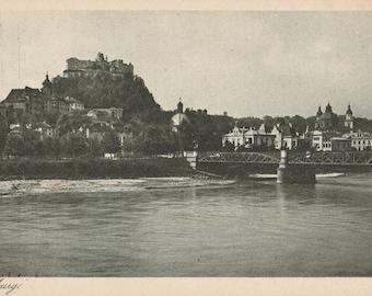 Salzberg ~  Real Photograph ~ Vintage Postcard ~ Unused