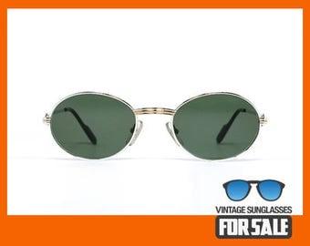 Vintage sunglasses Cartier Saint Honore Platine original made in France 1988