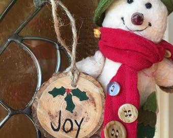 Joy Christmas Ornament-SOLD OUT