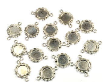 Lot 15 in-between round 23 mm silver