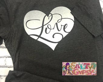 Love Heart-Valentine Day Shirt