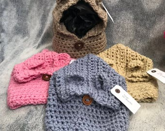 Bear Cowl - sizes baby to child