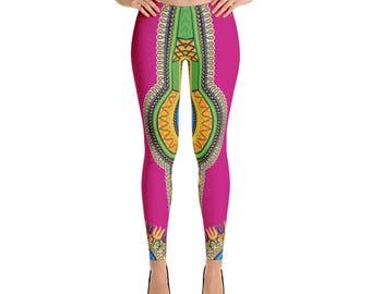 Dashiki Style Leggings