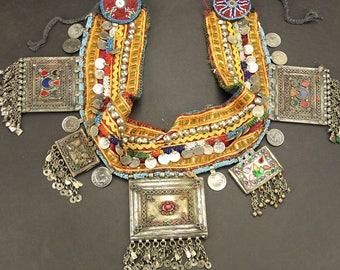 Afghan Tribal Bellydance Dangles BELT Turkoman 868f5
