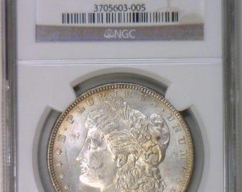 1883 Morgan Dollar NGC MS-63