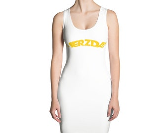 JERZDAY Sublimation Cut & Sew Dress