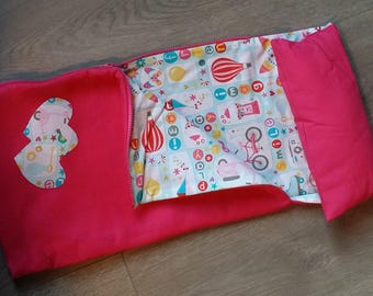 "Sleeping Bag for 18"" Doll (made to fit like American Girl doll)"