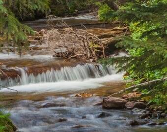Creek, water, Rocky Mountain National Park