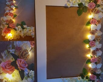 Personalised Light up selfie frame