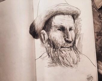 Fisherman (Print)