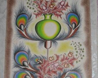 Rainbow Vase