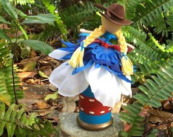 Cowgirl doll