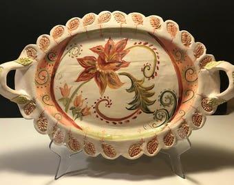 Handmade Ceramic  Tray