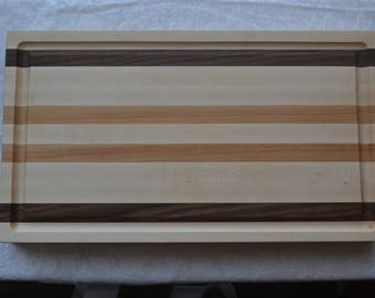 Maple / Walnut / Cherry Butcher Block Cutting Board