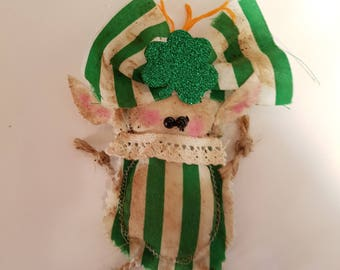 "Grungy Leprechaun ""Lydia"" A Rag Doll made with love"