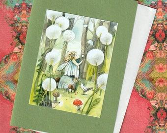Summer Child, Folding card