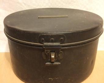 Metal box for hair (civil or military)