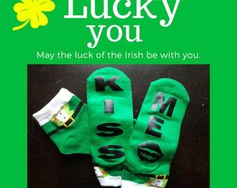 Novelty St. Patrick Day Socks