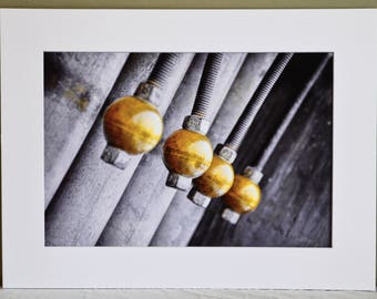 Golden  Chimes:  Fine Art Photography Mounted and Matted