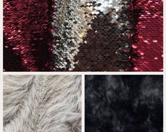 Weighted blanket kid, reversible sequin throw, anxiety relief, minky blanket