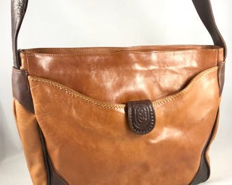 RARE Marino Orlandi Authentic Vintage Tote Shoulder Handbag